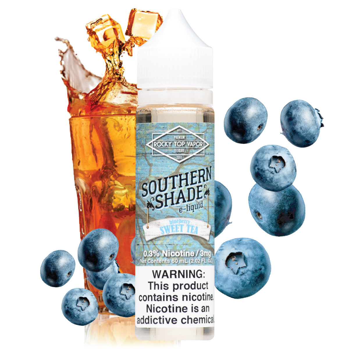 Southern Shade - Blueberry Sweet Tea